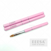 Buy cheap High Quality Luxury 8Mm 14Mm Nylon Pink Gel Air Nail Art Fader Ombre Brush from wholesalers