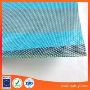 China Outdoor Sling & Mesh Fabric 1X1 weave Textilene mesh fabrics in strip on sale