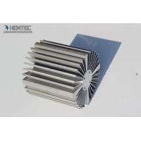 Quality Scratch / Peeling Aluminum Extrusions Profiles With Finished Machining for sale