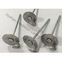 "Quality 2-1 / 2"" Stainless Steel Lacing Insulation Anchor Pins For Fastening Lagging To Exhaust Systems for sale"