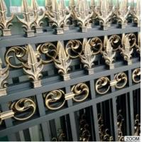 Quality Outdoor Aluminum Garden Fencing Custom Designed Decorative Security and Privacy Luxury for sale