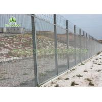 Sturdy 358 Security Fence / Galvanised Security FencingFor Factory Machine Guards