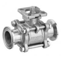Quality Full Port Stainless Steel Ball Valve With Clamp Ends 1000WOG Floating Ball for sale