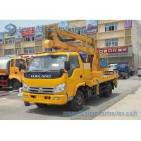 Quality 14m Foton Forland High - Altitude Operation Truck Trailer LHD / RHD for sale