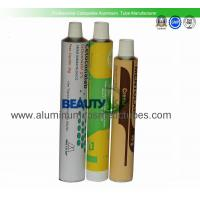 Skin Care Plastic Squeeze Tubes , Body Lotion Empty Cosmetic Tubes Eco Friendly