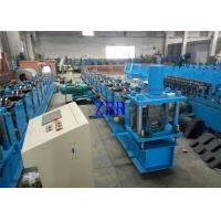 China 2 Units Servo Motor Interchangeable Roll Forming Machine For Purlin C / Z 100-300 MM on sale