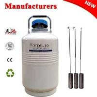 Quality Cryogenic freezer YDS-10L dewar vessel companies in China for sale