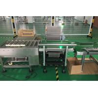 China Check Weigher for Heavy Weight 10- 20kgs products weight  and reject process on sale