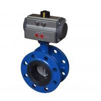 Quality Blue DA-160 Pneumatic Rotary Actuator Double Acting Rack And Pinion Design for sale