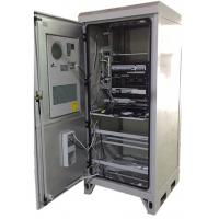 China Weatherproof Outdoor Electrical Enclosures Cabinets , European Standard Outdoor Server Cabinet on sale