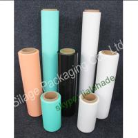 Quality Black/Orange Silage Film, 500mm*25mic*1800m, Recycle 100%LLDPE Film for Farm Packing for sale