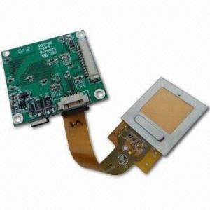 Quality Finger Print Scanner Module in Pressure Type, Supports Fingerprint Data Encryption for sale