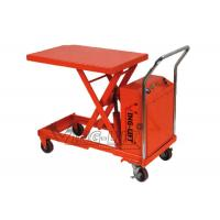 Quality Mobile Electric Scissor Lifting Table Equipment Hydraulic Heavy Duty for sale