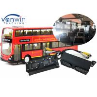Quality TCP/IP server Wireless 3G 4G WIFI dialing bus people counter 4ch MDVR system for sale