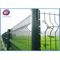 China Powder Coating 3d Welded Wire Mesh Fence Triangle Bending Easily Assembled on sale