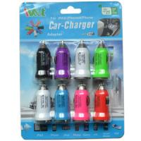 Quality Iphone / Ipad USB Car Chargers 5V 1A , Portable Mobile Charger Adapter for sale