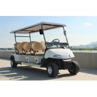 Buy cheap Low Price Club Car 6 Passenger Electric Golf Cart For Golf Course Transportation from wholesalers