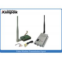 Buy FPV Wireless Video Transmitter 1.2Ghz 8CHs / CCTV Video Transmitter and Receiver with 400mW at wholesale prices