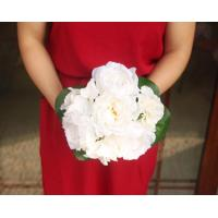 Quality Silk Peony Bouquet for sale