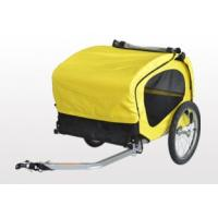 Buy Dog Trailer, Pet Bicycle Trailer with heavy duty comfort grip handle at wholesale prices