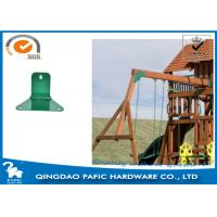 Buy Swing Accessory Steel Reinforced Trapezoidal Plate / Metal Post Connectors at wholesale prices