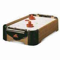 Quality MDF Air Hockey Table, Measures 51 x 31 x 10.5cm, Includes 2 Paddles for sale