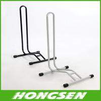 L shaped mountain bike parking Round feet bracket/rack for sale