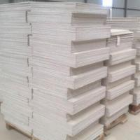 Quality Non-asbestos 100% Fiber Cement Board with Good Surface Finish and Easy to Work/Fix/Decorate Features for sale