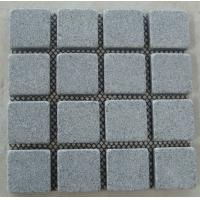 Quality Square Pavers, China Light Grey Granite Paving Stone  for sale