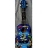 Quality Professional Cute 21 Inch Disney Land Hawaii Guitar Ukulele Nato Neck Guitar AGUL01 for sale