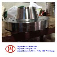 Quality UNS S32750 2507 1.4410 ASTM A182 F53 WN flange for sale
