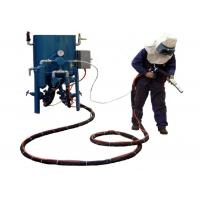 Quality Dry Type Portable Sandblasting Machine With Compressed Air Eco - Friendly for sale