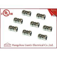 China Steel IMC 3/4 Compression Coupling Rigid Conduit Adaptor Electro Galvanized on sale