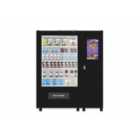 China Customize Glass Bottle Drink Snack Vending Machine With Large Touch Screen on sale