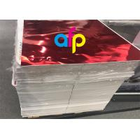 Buy Metallic Colors Metallized Film , Reflective Polyester Film Giftbox Lamination at wholesale prices