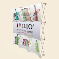 Quality 3x3 Vivi Vertical Pop Up Banner With Plastic Hanger Strong Square Profile for sale