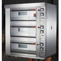 Quality Electric Baking Deck Oven 3 Deck 6 Trays All S/S FMX-O120C for sale