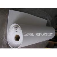 Quality Thermal Paper Ceramic Fiber Paper For Engine Hood Insulation Ceramic Wool Paper for sale