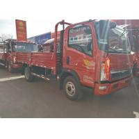 Quality 84Hp Light Duty Commercial Trucks 5 Ton Loading Capacity Sinotruk HOWO for sale