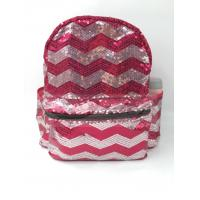 Quality Sequin Polyester Laptop Bag , Sequin School Bag , Fashion Backpack for sale