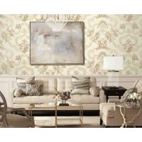 Modern European Floral Pvc Wallpaper Tv Background