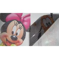 Quality Inkjet Wide Format Media One Way Vision Window 150 Micron PVC Film for sale