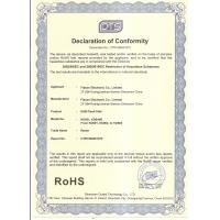 Flason Electronic Co.,Ltd. Certifications