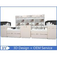 Buy cheap Custom Modern Wood Glass Jewelry Store Fixtures / Jewellery Shop Decoration from wholesalers
