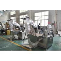 China PE Foam Liner Inserting Cap Lining Machine For Water Bottle Caps Automatic on sale
