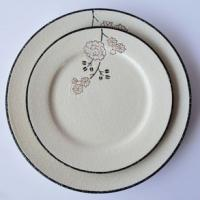 Quality 10.5 Dinner plate with customer design for sale