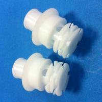 best quality white ABS parts injection moulding rapid prototype