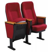 Buy cheap Durable Plastic Shell Auditorium Theater Chairs With Writing Pad / Church Seats from wholesalers