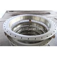 Quality Quenching And Tempering Carbon Steel Flange / Pressure Vessel Flange for sale