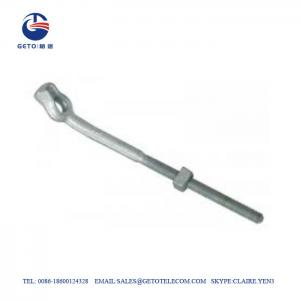 Quality 11.5KN Forged Angle TEB Galvanized Bolts And Nuts for sale